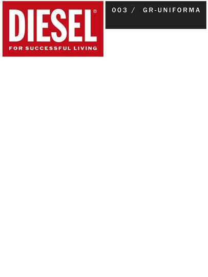 Diesel - GR02-J301, Grau/Weiß - Denim jacken - Image 2