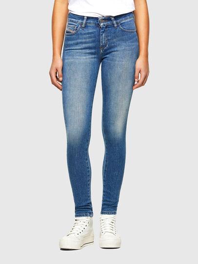 Diesel - Slandy 009QS, Hellblau - Jeans - Image 1
