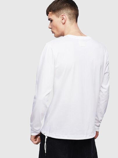 Diesel - T-HUSTY-LS, Weiß - T-Shirts - Image 3