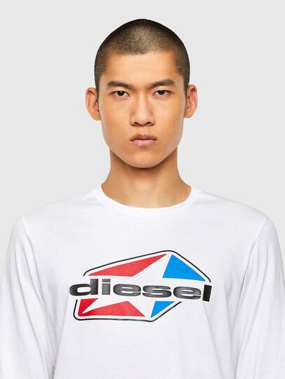 Diesel - T-DIEGOS-LS-K41, Weiß - T-Shirts - Image 3
