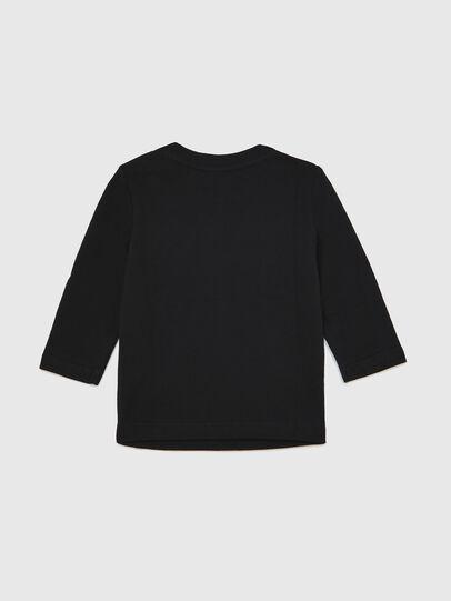 Diesel - TJUSTLOGOB ML, Schwarz - T-Shirts und Tops - Image 2