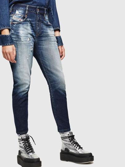 Diesel - Fayza 0092I, Dunkelblau - Jeans - Image 7