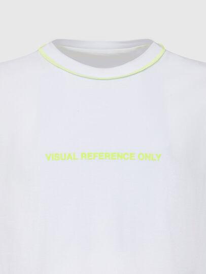 Diesel - T-JUSEAM, Weiß - T-Shirts - Image 3
