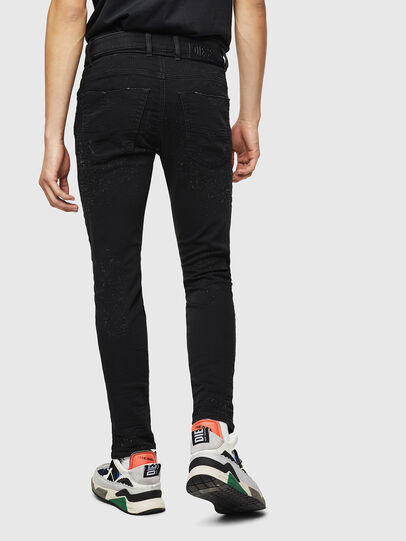 Diesel - Krooley JoggJeans 0092N, Schwarz/Dunkelgrau - Jeans - Image 2