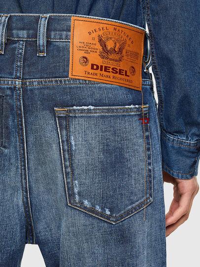 Diesel - D-Vider 009NJ, Mittelblau - Jeans - Image 4