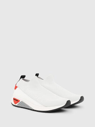 Diesel - S-KB SOCK QB, Weiß/Grau - Sneakers - Image 2