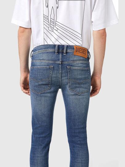 Diesel - Sleenker 09A86, Hellblau - Jeans - Image 4