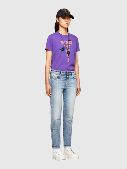 Diesel - CL-T-SILY-O, Violett - T-Shirts - Image 5
