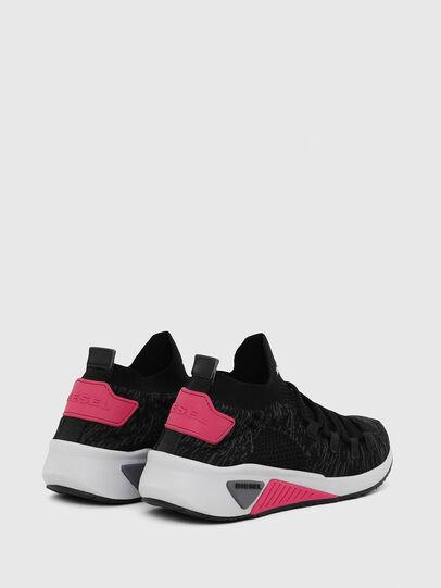 Diesel - S-KB ATHL LACE W, Schwarz/Rosa - Sneakers - Image 3