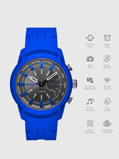 Diesel - DT1017, Brillantblau - Smartwatches - Image 1