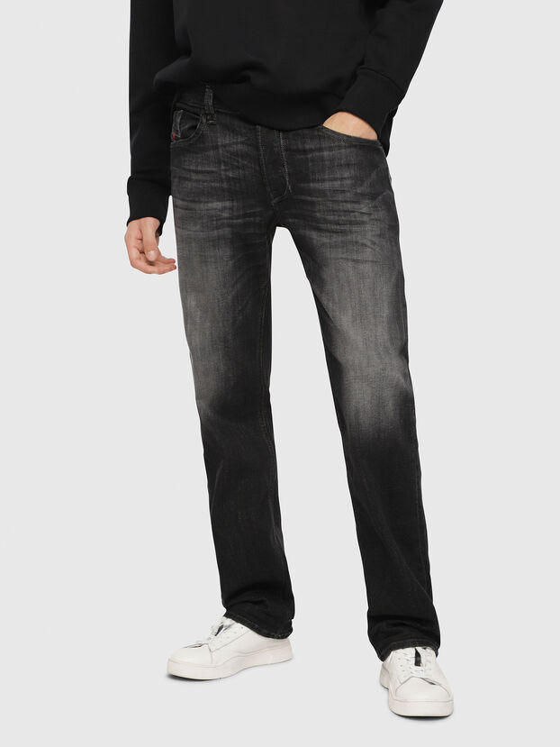 Larkee 087AM, Schwarz/Dunkelgrau - Jeans