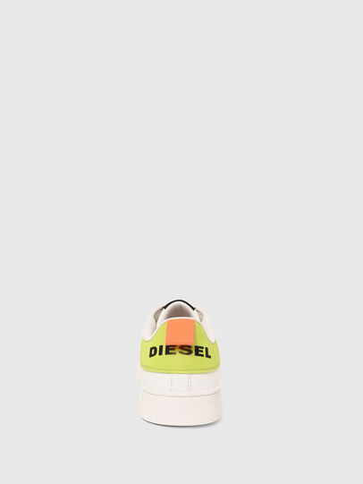 Diesel - S-CLEVER LOW LACE, Weiss/Gelb - Sneakers - Image 5