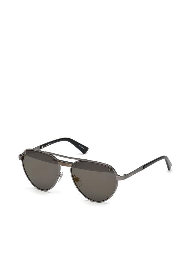 Diesel - DL0261, Schwarz/Grau - Sonnenbrille - Image 2