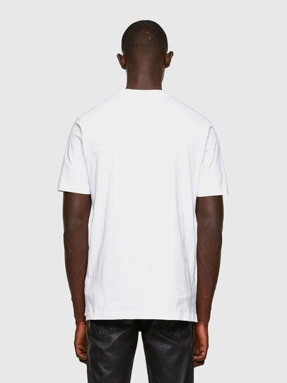 Diesel - T-JUST-SLITS-A30, Weiß - T-Shirts - Image 2