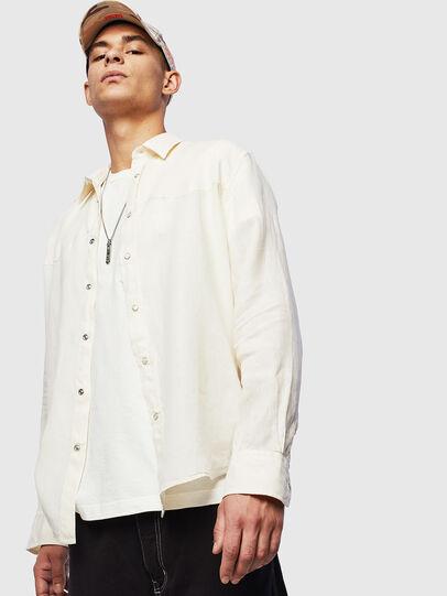 Diesel - S-PLAN-B, Weiß - Hemden - Image 5