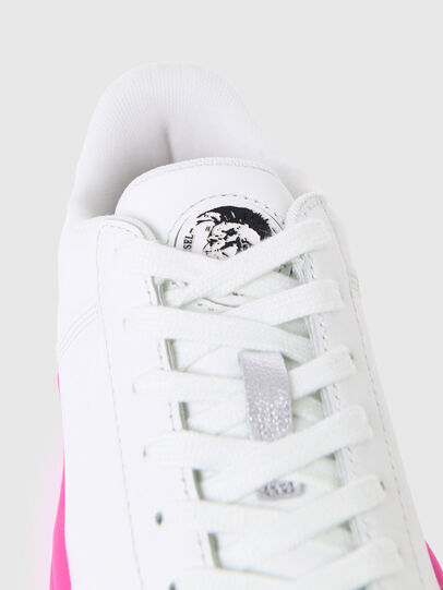 Diesel - S-CLEVER LOW LACE W, Weiss/Rosa - Sneakers - Image 5
