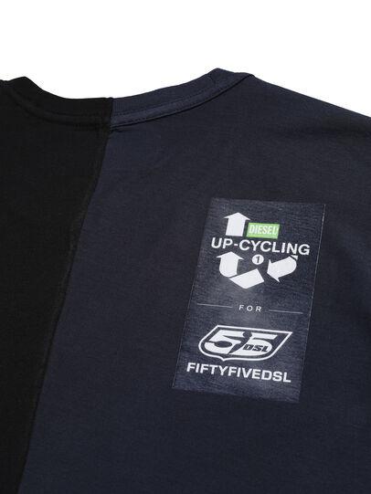 Diesel - D-MESO&MESO, Schwarz - T-Shirts - Image 4