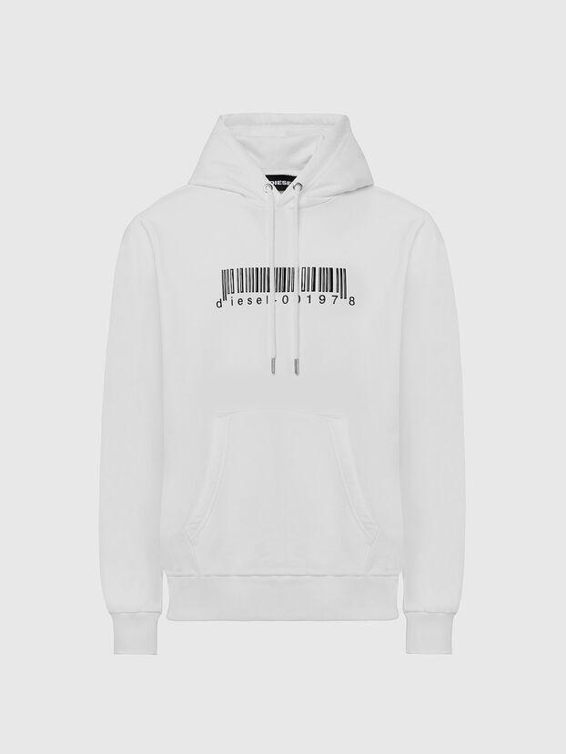 S-GIRK-HOOD-X2, Weiß - Sweatshirts