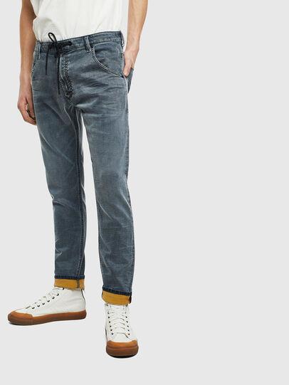 Diesel - Krooley JoggJeans 069LT, Dunkelblau - Jeans - Image 1