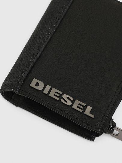 Diesel - L-12 ZIP, Schwarz - Portemonnaies Zip-Around - Image 5
