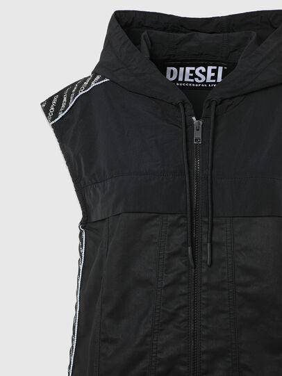 Diesel - D-JANA JOGGJEANS, Schwarz/Dunkelgrau - Kleider - Image 7