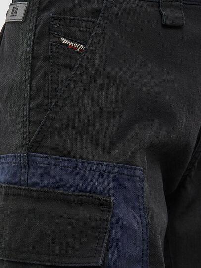 Diesel - D-Kiki JoggJeans® 009KM, Schwarz/Dunkelgrau - Jeans - Image 5