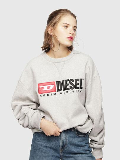 Diesel - F-ARAP, Hellgrau - Sweatshirts - Image 1