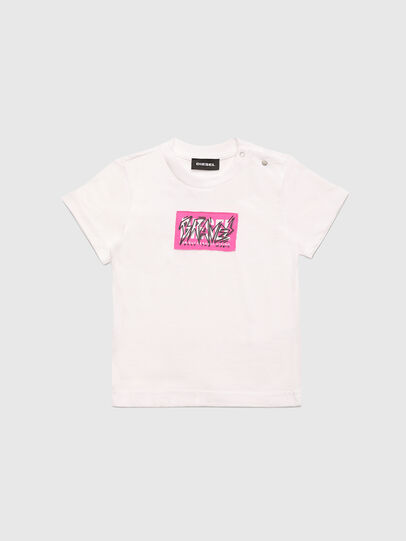 Diesel - TJUSTX62B, Weiß - T-Shirts und Tops - Image 1