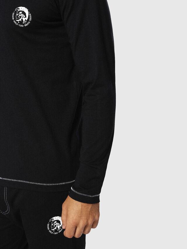 Diesel - UMLT-JUSTIN, Schwarz - T-Shirts - Image 3