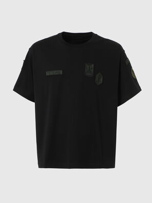 T-CROLF, Schwarz - T-Shirts