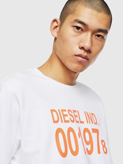 Diesel - S-GIRK-J3, Weiß - Sweatshirts - Image 3