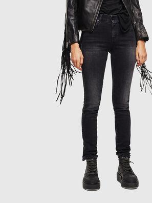 Sandy 0096P, Schwarz/Dunkelgrau - Jeans