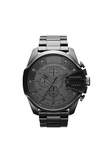 Mega Chief Uhr mit schwarzen Optik