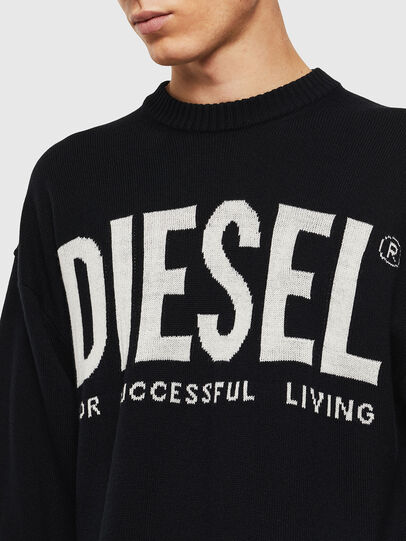 Diesel - K-LOGOS, Schwarz - Strickwaren - Image 5