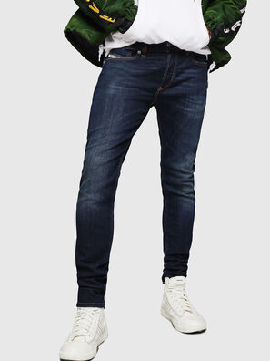 Sleenker 083AW, Dunkelblau - Jeans