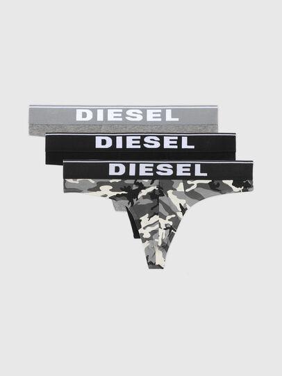 Diesel - UMBR-STRINGTHREEPACK, Grau/Schwarz - Slips - Image 4