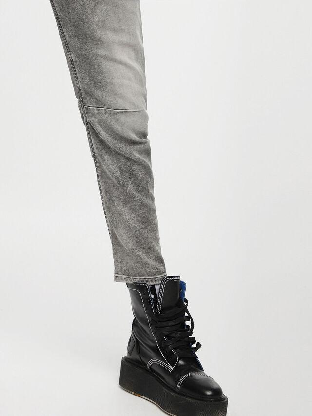 Diesel - Fayza JoggJeans 0855B, Hellgrau - Jeans - Image 5