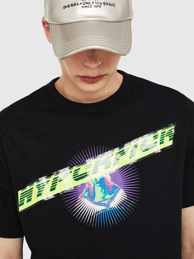 Diesel - T-YORI, Schwarz - T-Shirts - Image 3