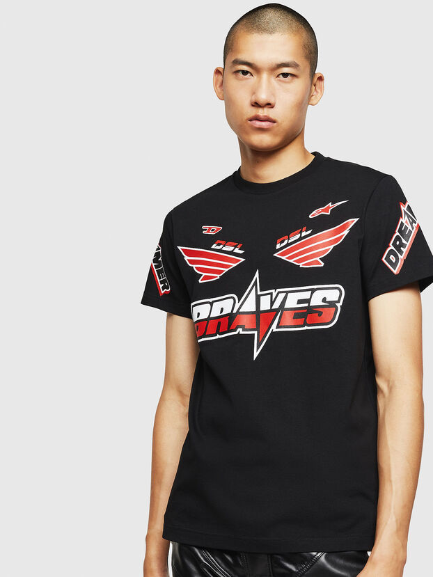 ASTARS-T-DIEGO, Schwarz - T-Shirts