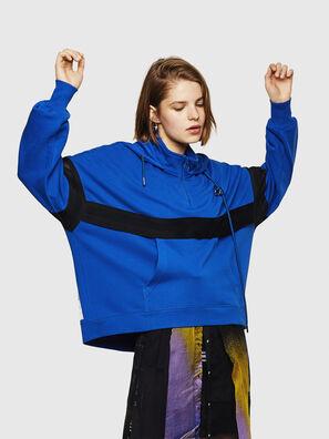 F-AVAL, Brillantblau - Sweatshirts