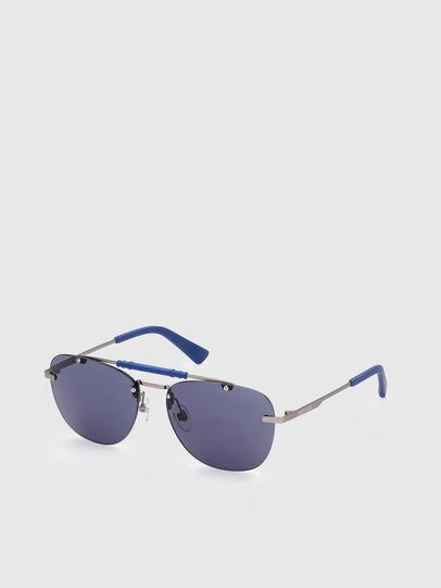 Diesel - DL0340, Blau - Sonnenbrille - Image 2