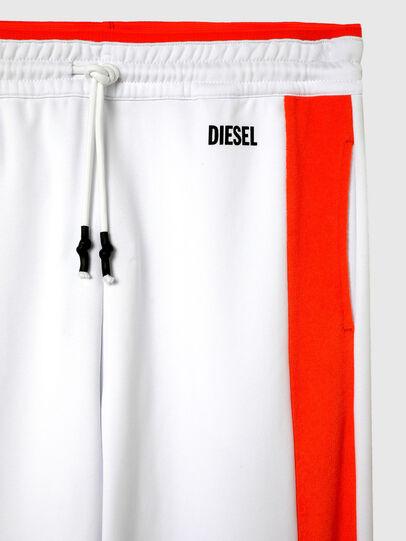 Diesel - UMLB-PETER-SP, Weiss/Orange - Hosen - Image 3