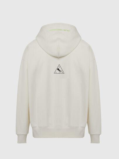 Diesel - S-ALBY-X2, Weiß - Sweatshirts - Image 2