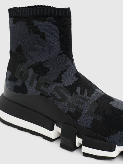 Diesel - H-PADOLA HIGH SOCK, Schwarz - Sneakers - Image 4
