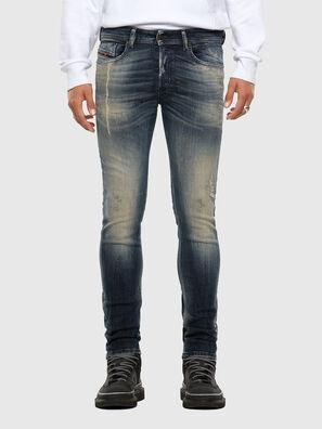 Sleenker 069NI, Dunkelblau - Jeans