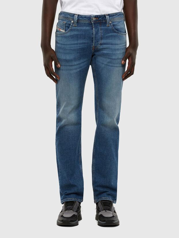 Larkee 009DB, Mittelblau - Jeans