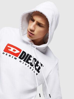 S-GIR-HOOD-DIVISION, Weiß - Sweatshirts