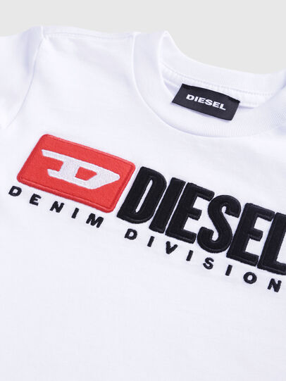 Diesel - TJUSTDIVISIONB-R, Weiß - T-Shirts und Tops - Image 3