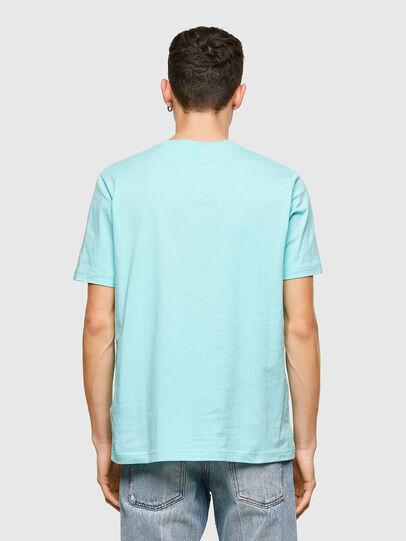 Diesel - T-JUST-E9, Hellblau - T-Shirts - Image 2
