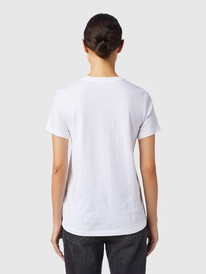 Diesel - T-SILY-B6, Weiß - T-Shirts - Image 2
